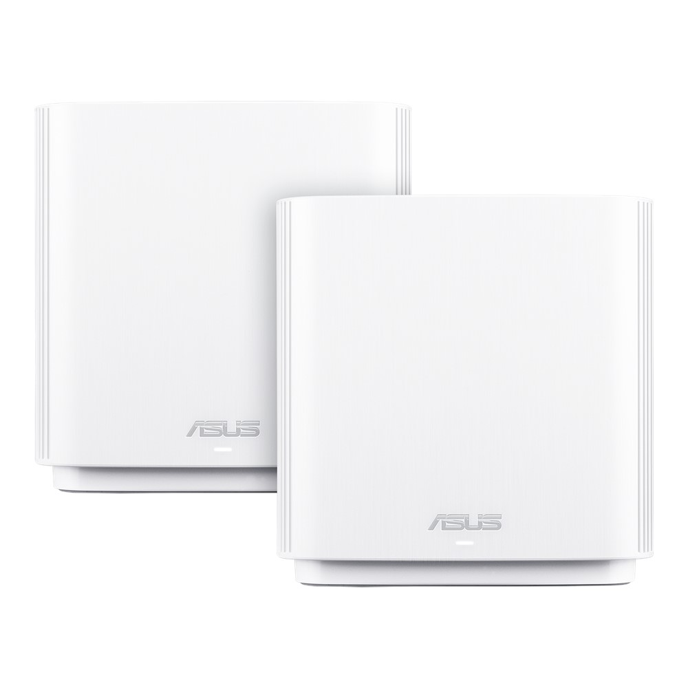 Asus ZenWiFi CT8 AC Wireless AC3000 Tri Band Gigabit Router (White) Pack of 2