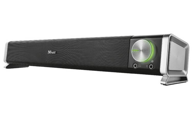 Trust Asto Sound Bar (Black) for PC and TV Speaker