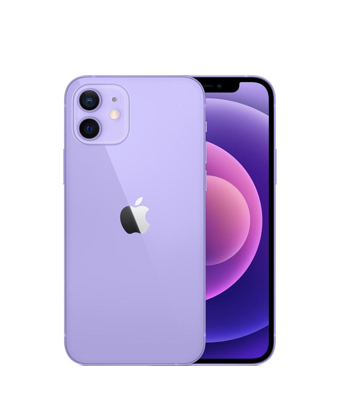 Apple iPhone 12 Mini (128GB) Smartphone (Purple)