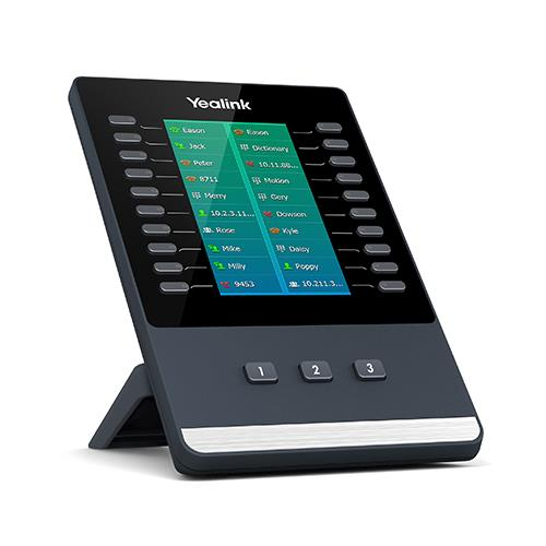 Yealink EXP50 Color-screen Expansion Module (Black) for T5 Series Phones