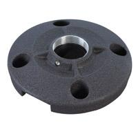 Chief CMS115 6 inch (152 mm) Speed-Connect Ceiling Plate (Black)