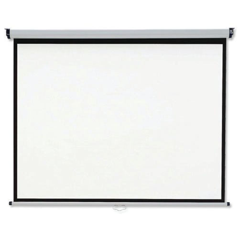 Nobo Wall Mounted 4:3 Projection Screen 2400x1813mm (Black-Bordered) for DLP LCD Projector