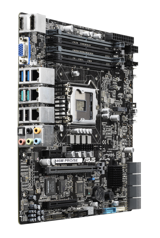 Asus WS C246M PRO/SE Motherboard Intel Socket LGA1151 Intel C246 mATX Gigabit LAN