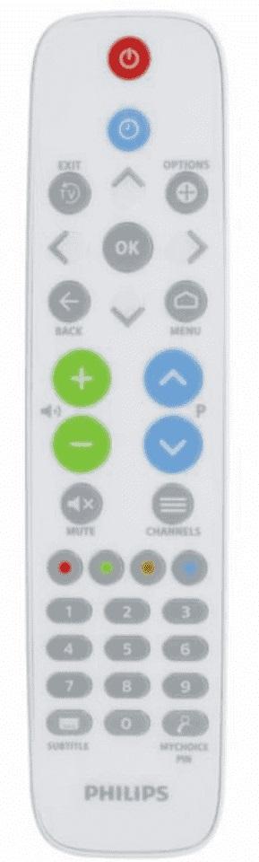 Philips Professional TV 22AV1604B Remote Control