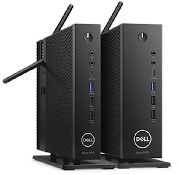 Dell Wyse 5070 Intel Celeron (J4105) Thin Client Computer 1.5GHz 4GB 32GB SSD Windows 10 Pro (Integrated Graphics)