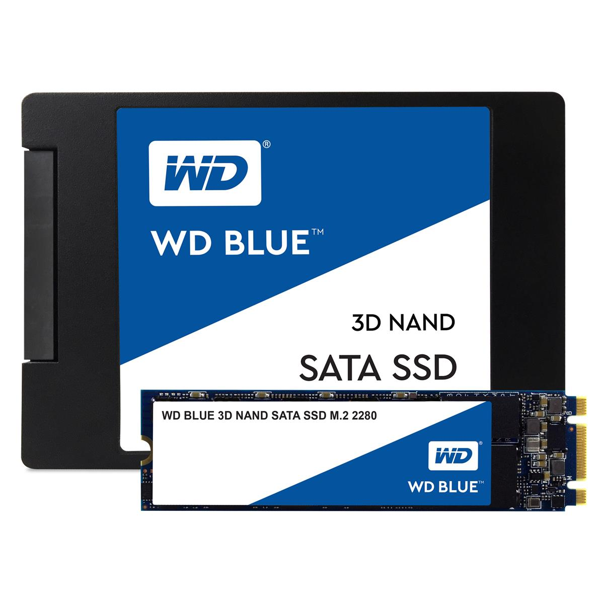 WD Blue (1TB) 3D NAND SATA M.2 Solid State Drive