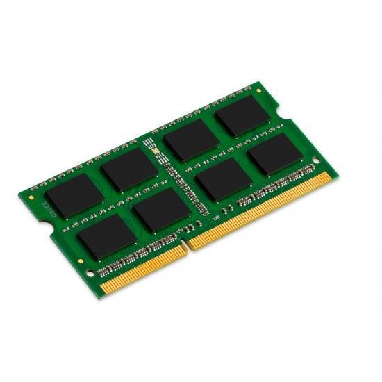 Kingston 8GB (1x8GB) Memory Module 1600MHz 204-Pin CL11 DDR3 SODIMM Non-ECC Unbuffered 1.5V