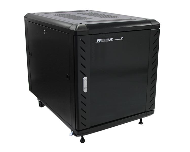 StarTech.com 12U 36 inch Knock-Down Server Rack Cabinet with Casters