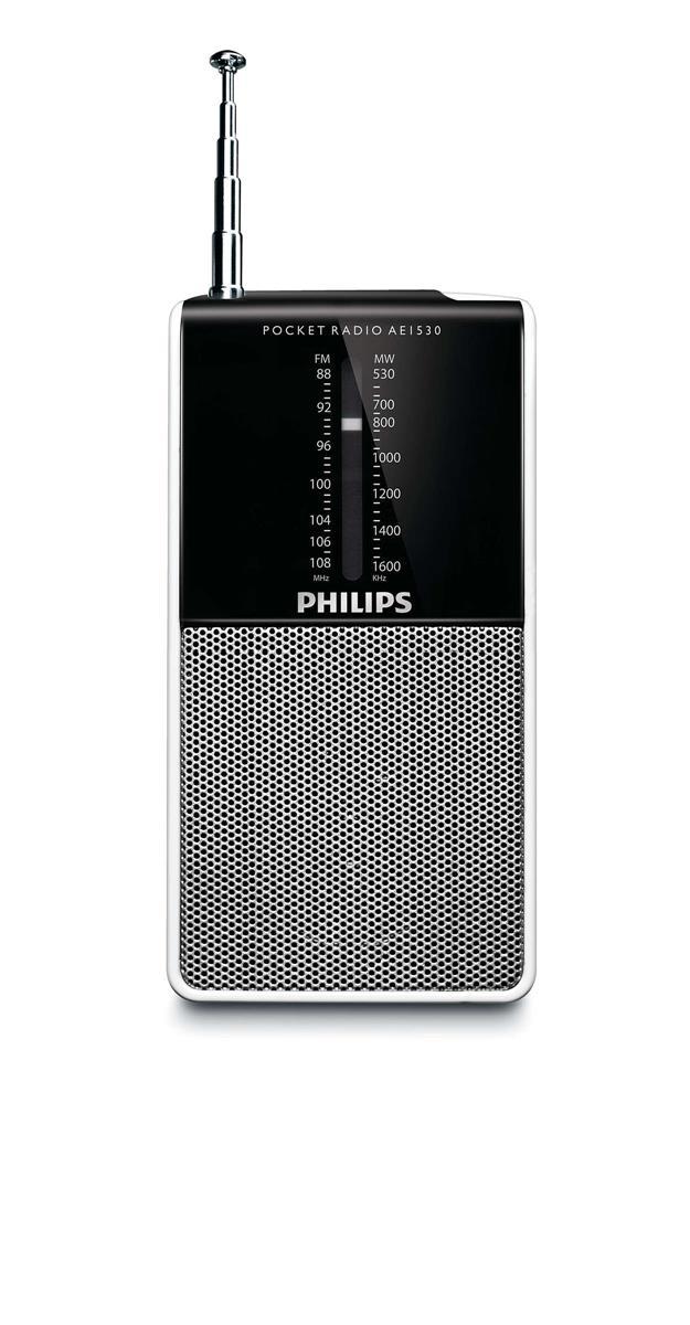 Philips FM/MW Portable Radio
