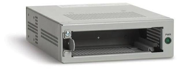 Allied Telesis AT-MCR1-30 1 Slot Media Converter Rackmount Chassis AC PSU and UK Power Cord