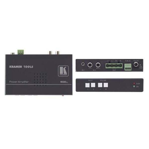 Kramer Electronics 900xl Stereo Audio Power Amplifier (10 Watts per Channel)