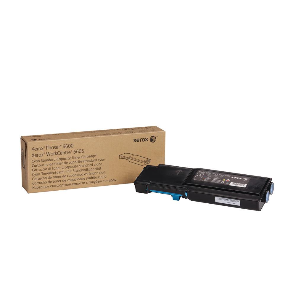 Xerox 106R02245 (Yield: 2,000 Pages) Cyan Toner Cartridge