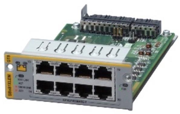 Allied Telesis 8 x 1G RJ45 Expansion Module for SBx81XLEM