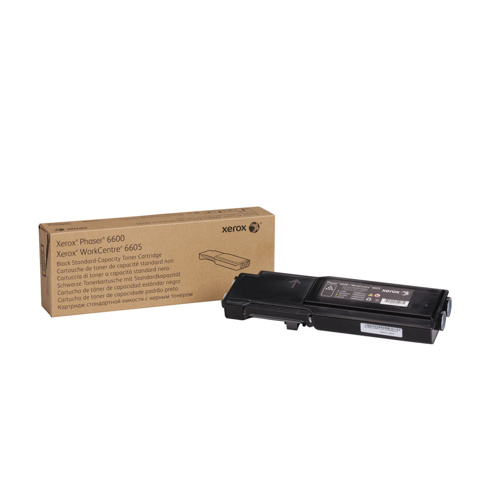 Xerox 106R02248 (Yield: 3,000 Pages) Black Toner Cartridge