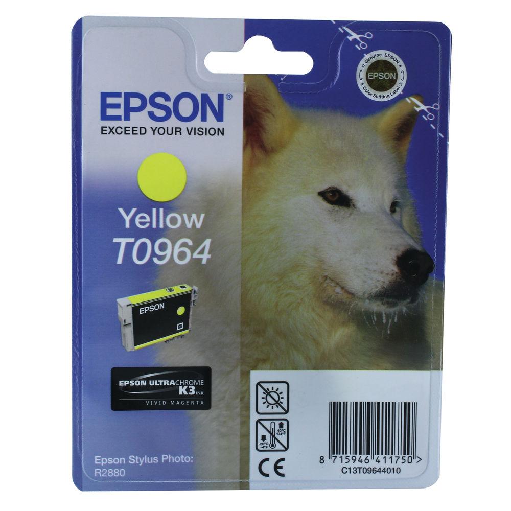 T0964 Yellow Ink Cartridge - 13ml