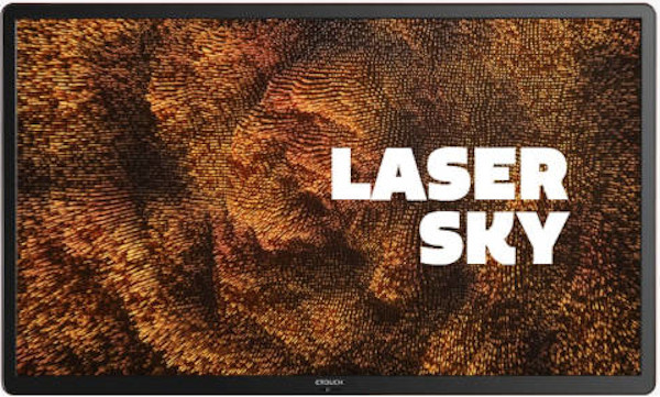 CTOUCH Laser Sky (55 inch) UHD Interactive Display 32 Point Touch Point 3840 x 2160 350cd/m2 16:9 1200:1 8ms (Black)