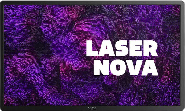 CTOUCH Laser Nova (65 inch) UHD Interactive Display 32 Point Touch Point 3840 x 2160 350cd/m2 16:9 1200:1 8ms (Black)