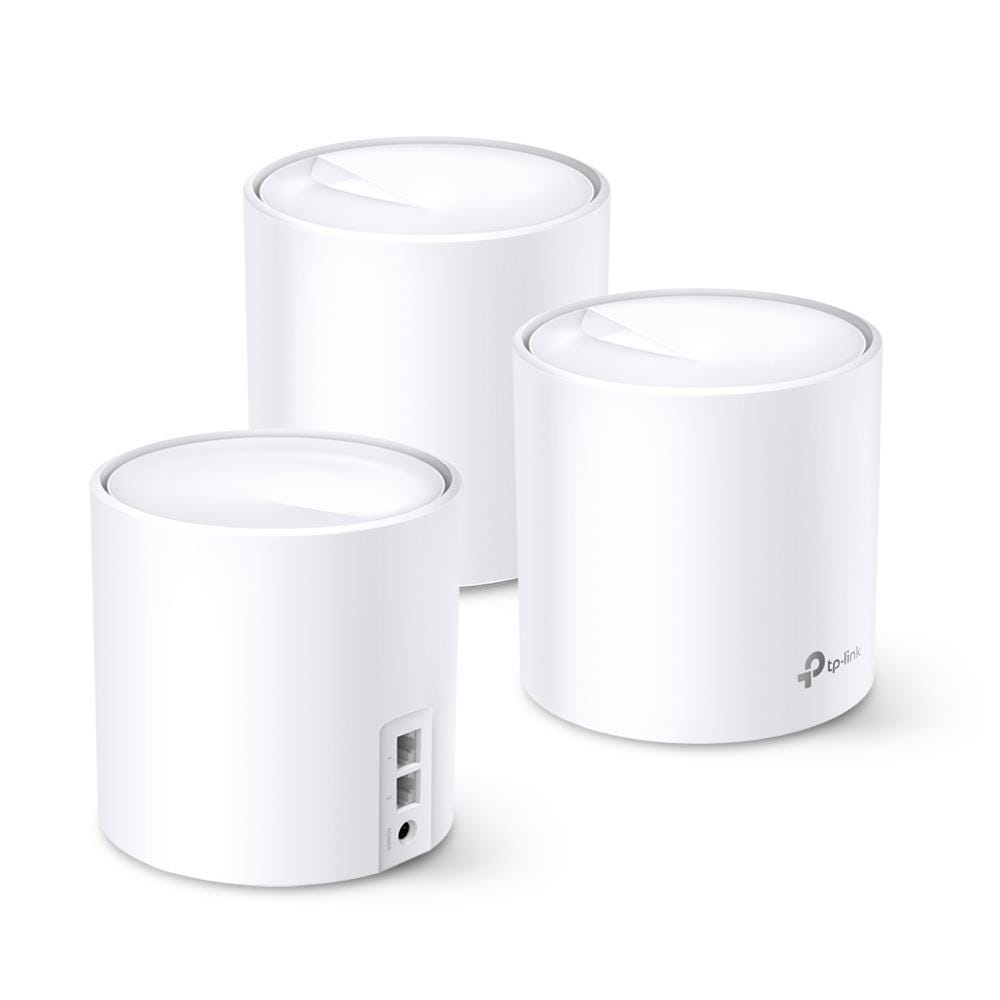 TP-Link Deco X20 AX1800 Mesh Whole Home WiFi 6 System (Triple Pack)
