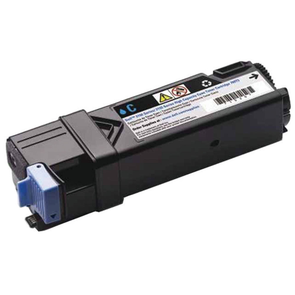 Dell 769T5 High Capacity (Yield: 2,500 Pages) Cyan Toner Cartridge