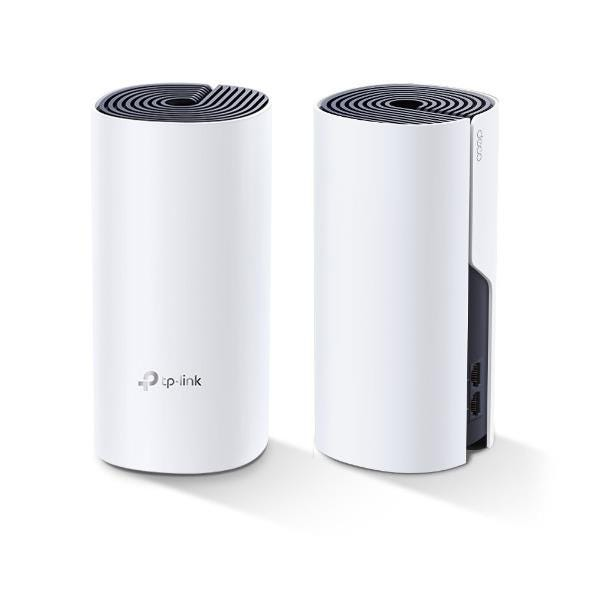 TP-Link Deco P9 AC1200 Hybrid Mesh Whole Home WiFi System with Powerline (Twin Pack)