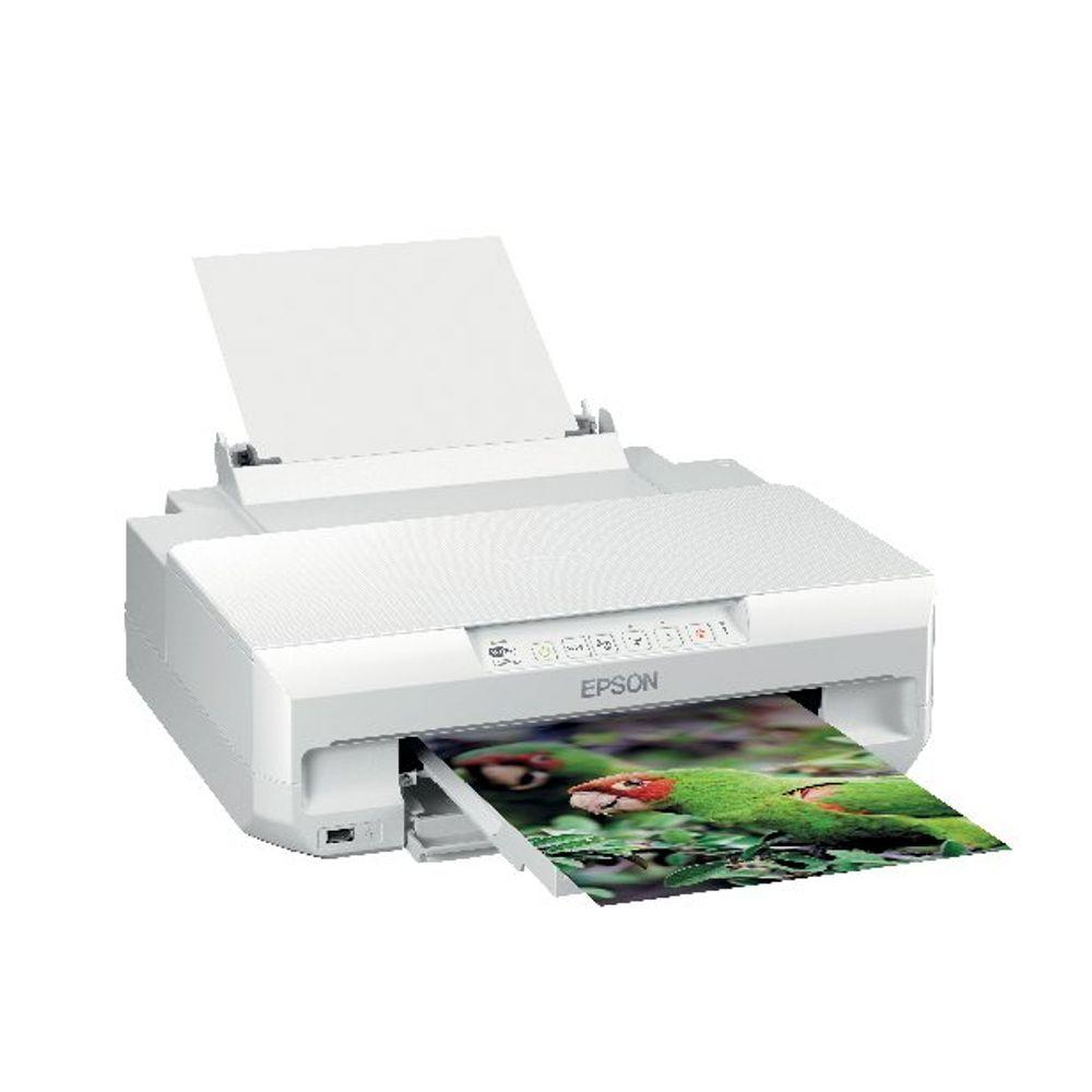 Epson Expression Photo XP-55  (A4) Colour Wireless Inkjet Printer (White)