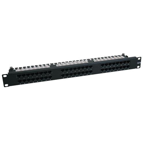 Tripp Lite 48-Port Cat6 1U High Density 110 Type Patch Panel