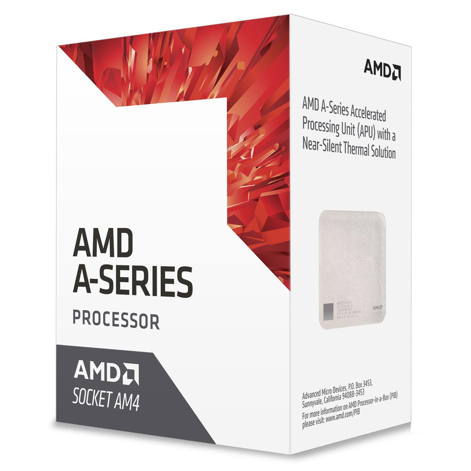 AMD A6 Series 7th Gen A6 (9500E) 3GHz Accelerated Processor Unit (APU) 1MB L2 Cache (OPN PIB)