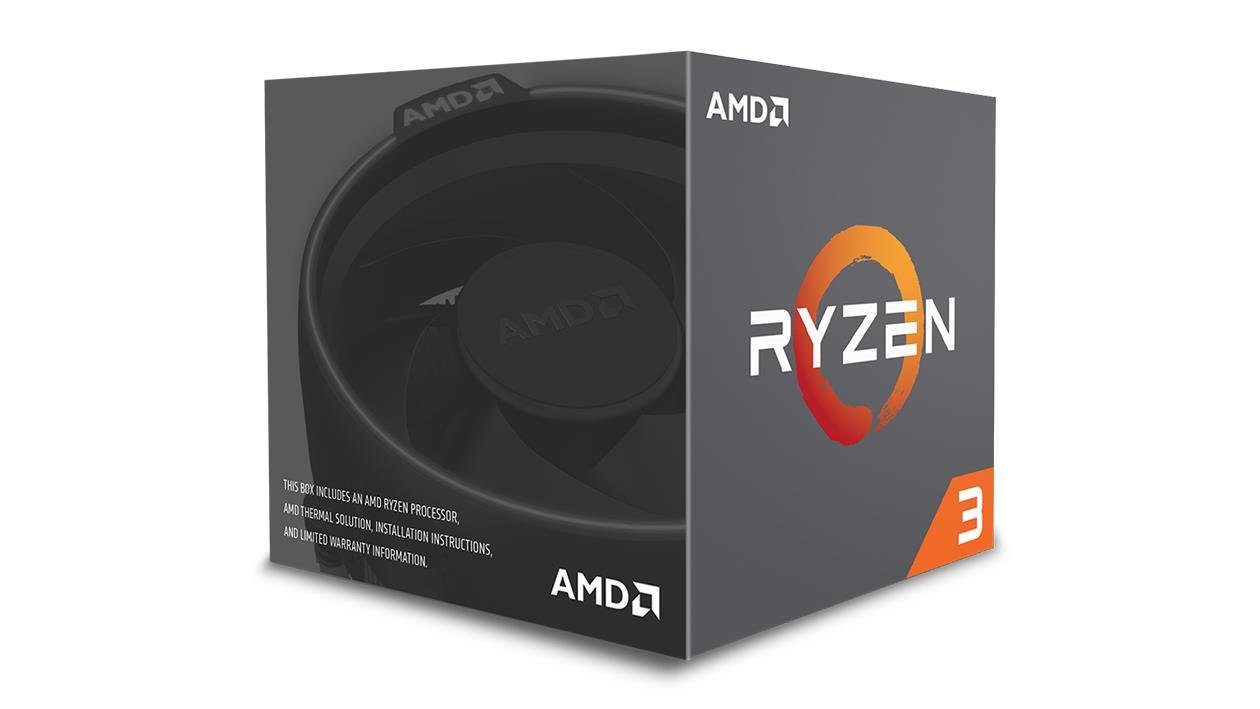 AMD Ryzen 3 (1300X) 3.5GHz Processor 8MB L3 Cache with Wraith Stealth (Box)