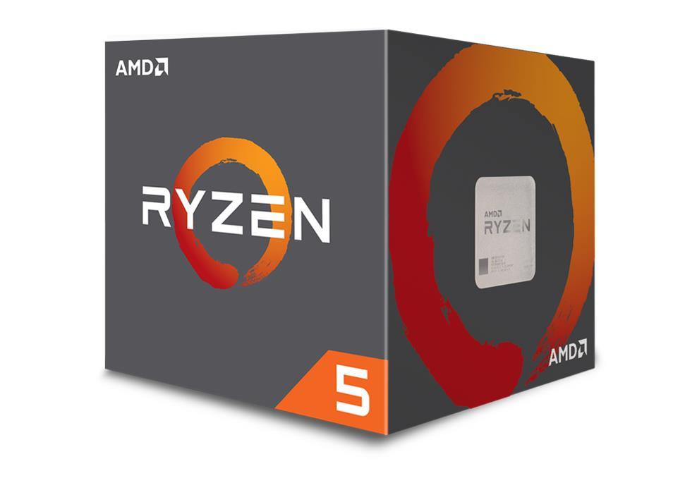 AMD Ryzen 5 (1600) 3.2GHz Processor Six Core 16MB L3 Cache (Boxed)