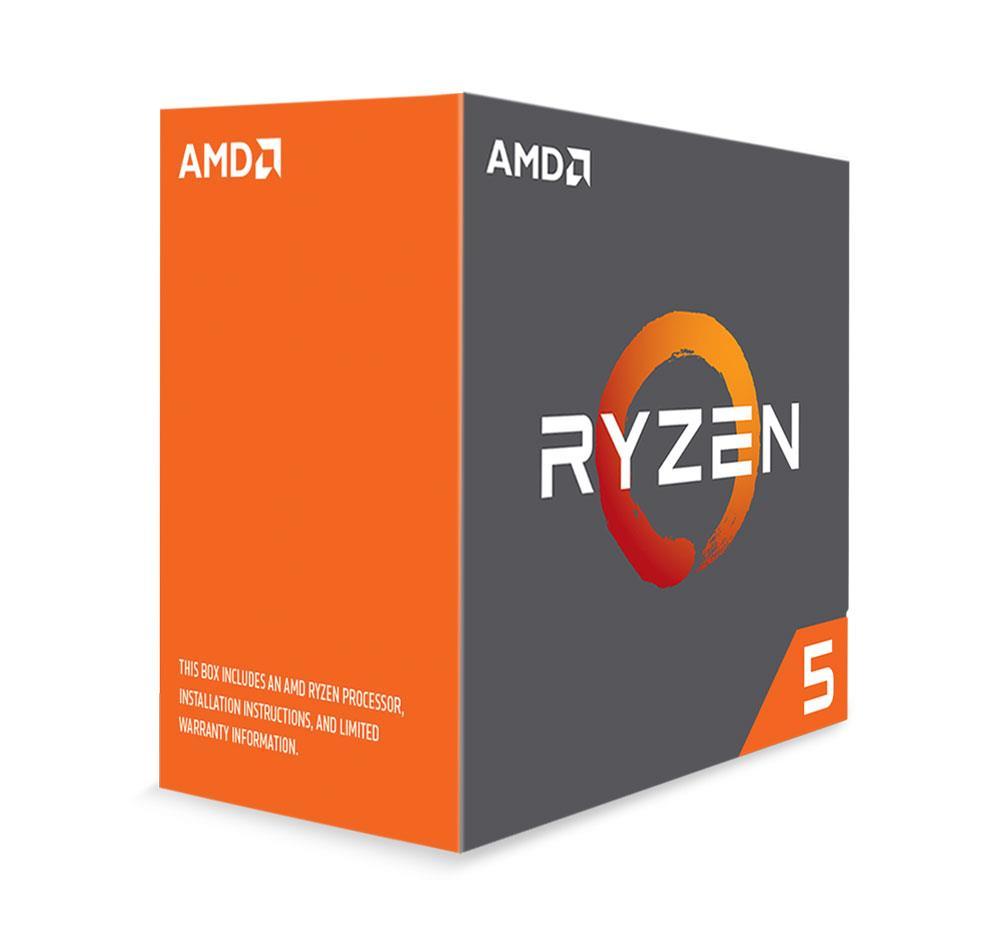 AMD Ryzen 5 (1600X) 3.6GHz Processor 16MB L3 Cache (PIB)