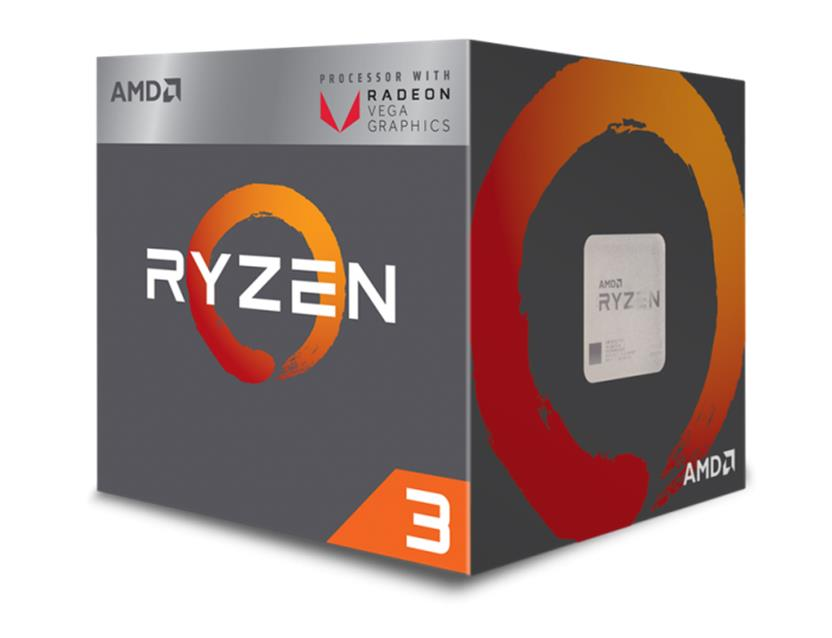 AMD Ryzen 3 (2200G) 3.5GHz Processor 4MB L3 Cache with Vega Graphics (Boxed)