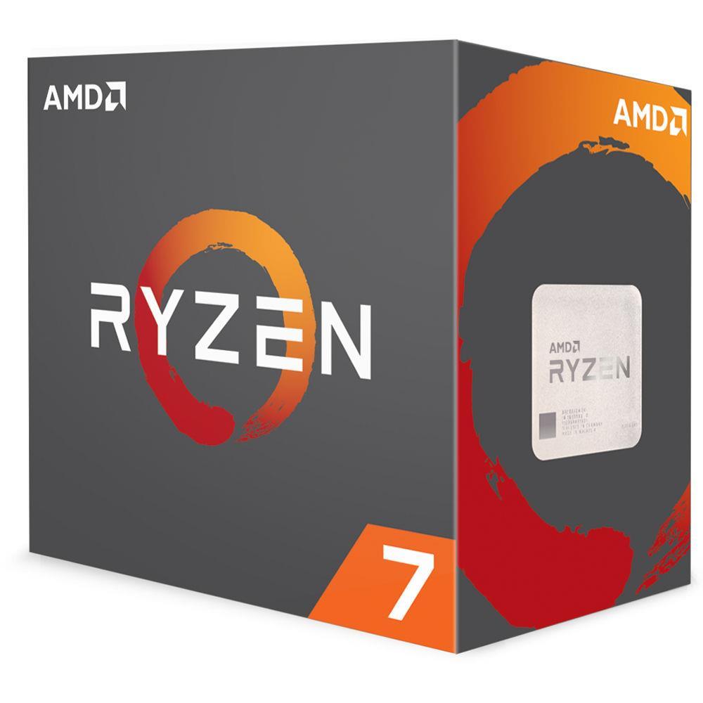 AMD Ryzen 7 2700 (3.2GHz) Processor 8 Core 16MB L3 Cache (Boxed)