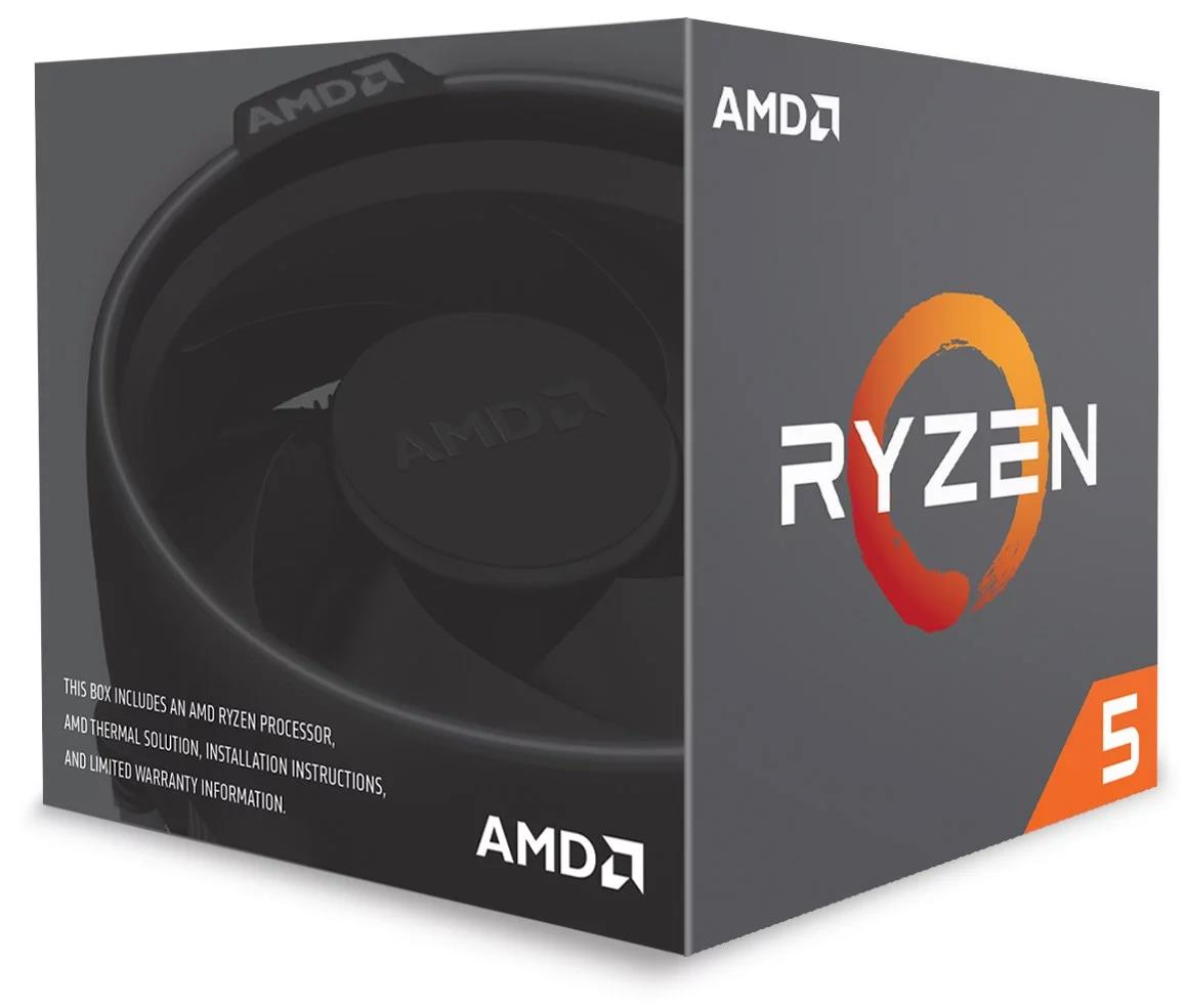 AMD 2nd Gen Ryzen 5 (2600X) 3.6GHz Processor 16MB L3 Cache with Wraith Spire (Boxed)