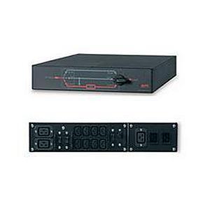 APC Single Phase Service Bypass Panel 3000-5000VA  230V Black 2 U  Rack/Tower Convertible
