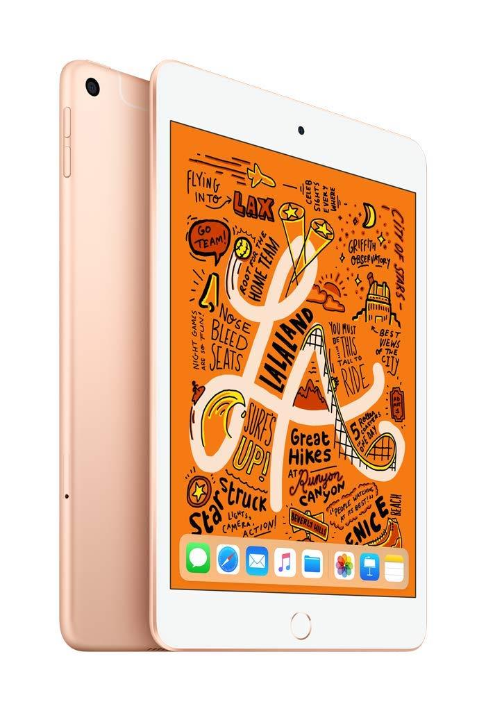 Apple iPad Mini 5 (7.9 inch) Tablet PC 256GB WiFi with Cellular iOS 12 (Gold)