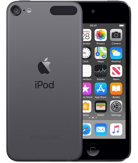 Apple iPod touch - 7th generation - digital player - Apple iOS 12 - 256 GB - space grey