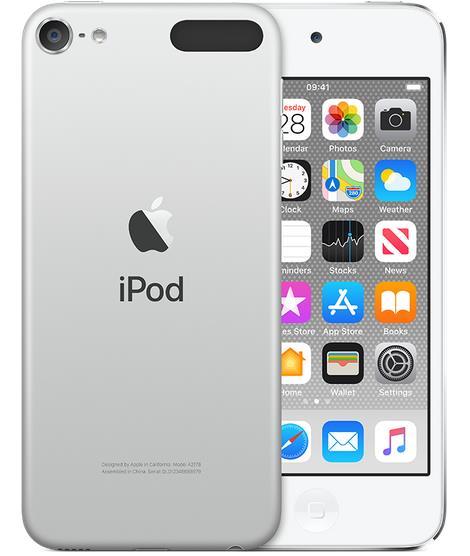 Apple iPod touch - 7th generation - digital player - Apple iOS 12 - 128 GB - silver