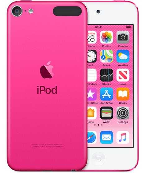 Apple iPod touch - 7th generation - digital player - Apple iOS 12 - 128 GB - pink