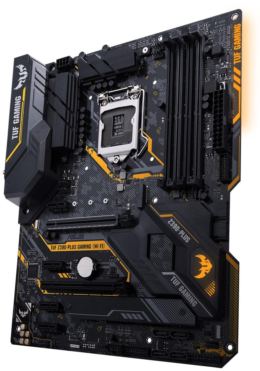 Asus TUF Z390-Plus Gaming (Wi-Fi) Intel LGA1151 Z390 Motherboard (ATX) RAID WLAN Gigabit LAN (Intel UHD Graphics)
