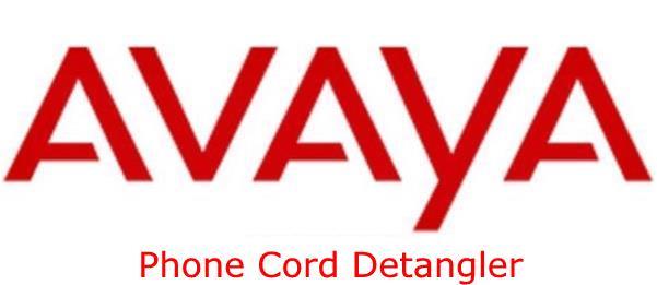 Avaya Phone Cord Detangler