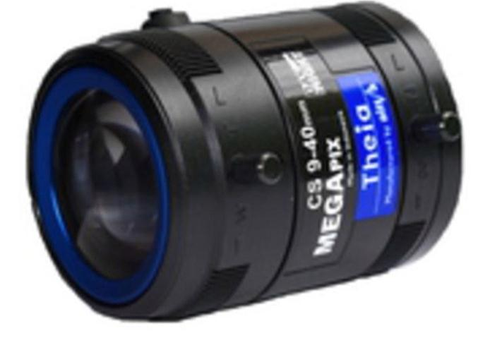AXIS 9-40mm Varifocal Telephoto Lens with DC-Iris (Black) for AXIS P1346/-E and AXIS P1347/-E Network Cameras