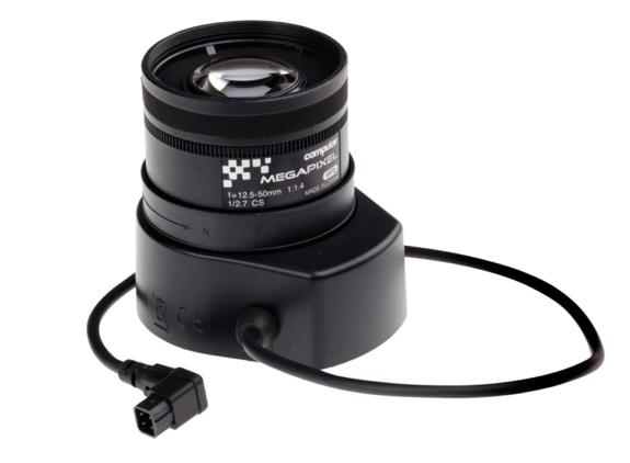 AXIS Computar 12.5-50 mm Telephoto DC-Iris Lens for AXIS P1353, P1353-E, P1354, P1354-E, Q1602, Q1602-E, Q1604, Q1604-E