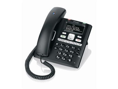 BT Paragon 650 Corded Telephone with Digital Answering Machine (Black)