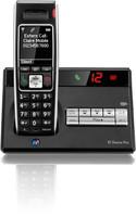 BT Diverse 7450 Plus DECT Telephone Single (Black)