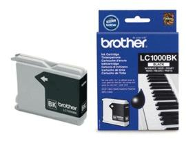 Brother LC1000BK (Yield: 500 Pages) Black Ink Cartridge