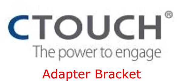 CTOUCH Adaptor Bracket To Be Used with The Wallom Mount and the 86 inch Sky or Nova Displays
