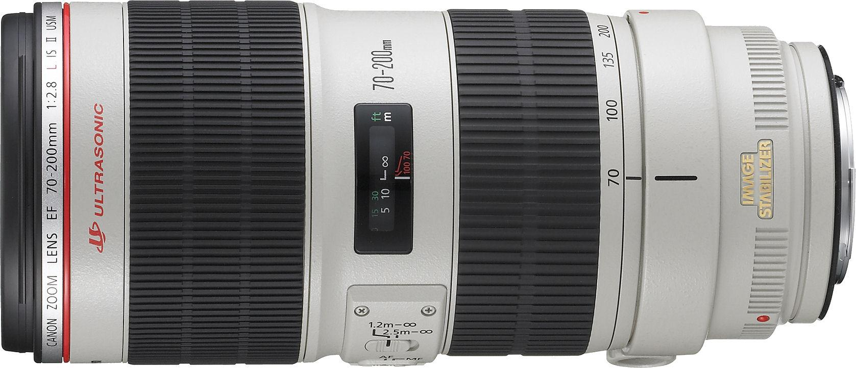 Canon EF 70-200mm f/4L IS USM Telephoto Zoom Lens