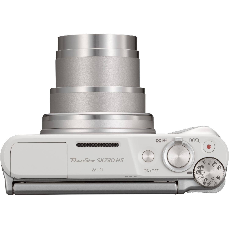 Canon PowerShot SX730 HS 21.1MP Digital Camera 40x Optical Zoom 3 inch LCD (Silver)