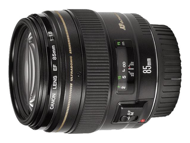 Canon EF 85mm f/1.8 USM Fixed Lens