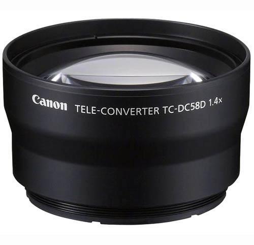 Canon TC-DC58D Telephoto Conversion Lens for PowerShot G10